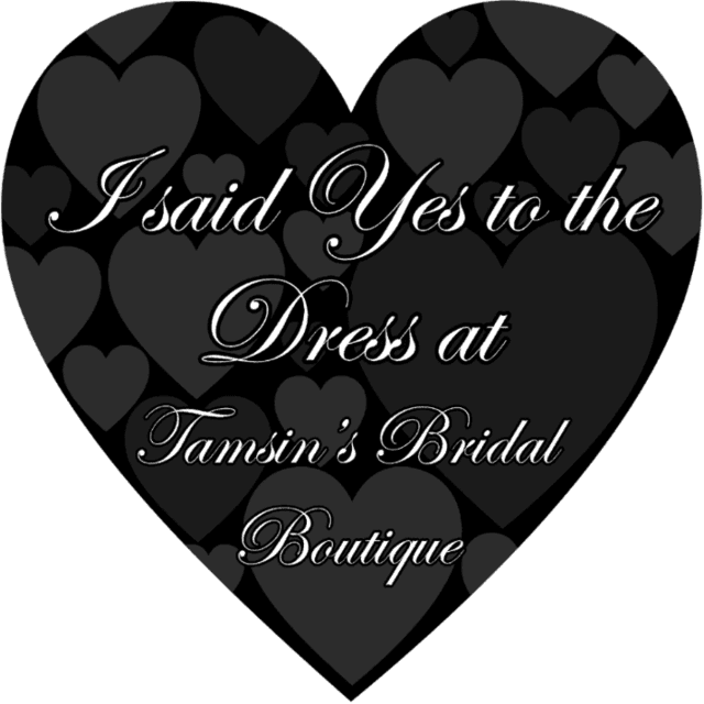 Say yes to the dress at Tamsin's
