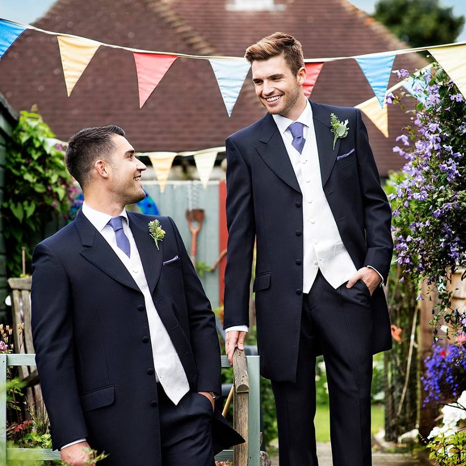 Menswear Hire arrives at Tamsin's Bridal Boutique